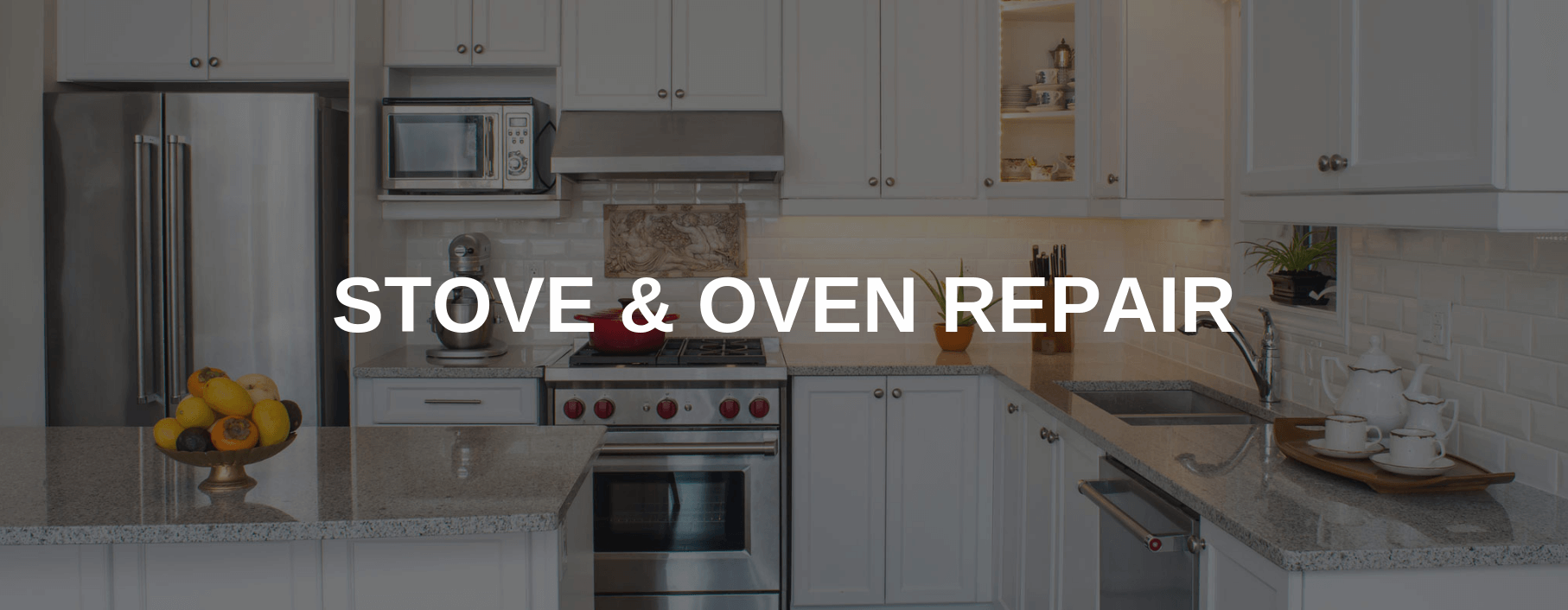 stove repair oceanside